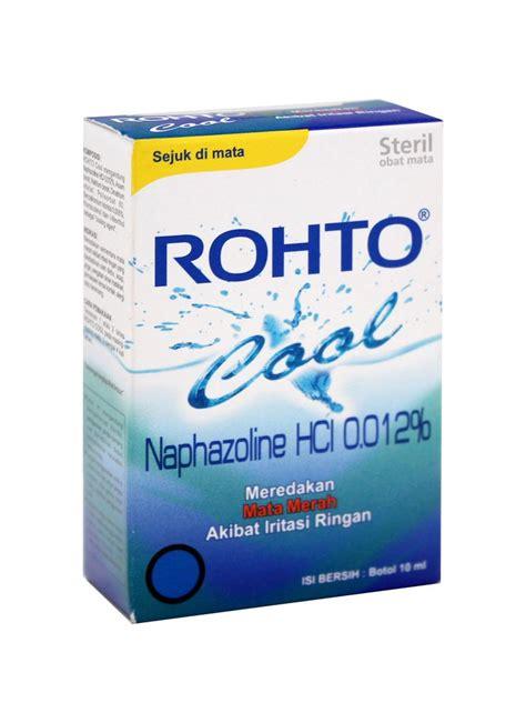 Asam Borat Pada Tetes Mata rohto obat mata cool box 7ml klikindomaret