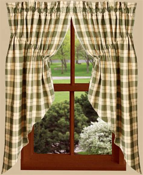 63 swag curtains parker dobby sage nutmeg gathered window curtain swag 72