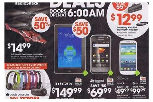 radioshack deals black friday