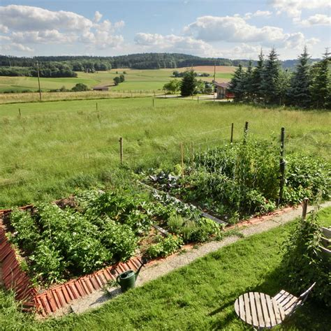 self sustaining garden off grid permaculture farm with self sufficient garden in