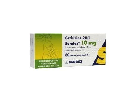 Obat Alergi Cetirizine fungsi obat cetirizine 2hci