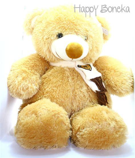 Boneka Teddy Kuning Pita I Kado Import happy boneka jual boneka jual boneka teddy