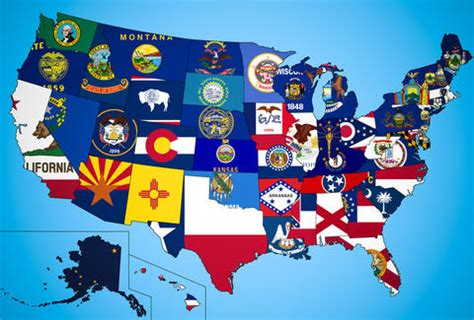 50 us states as independent countries california, texas