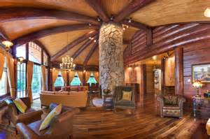 luxury cabin homes luxury log cabin homes wsj mansion wsj com