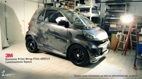 3m Folie Camouflage by Smart Brabus Car Wrapping Camo By Guerrerastyle