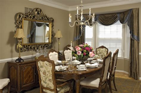 traditional style curtains cortese dining room 3 traditional dining room dc