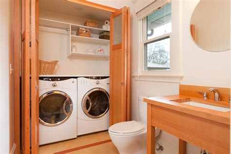 bathroom laundry room combo bathroom laundry combo bathroom transitional with mounted robe and towel hooks