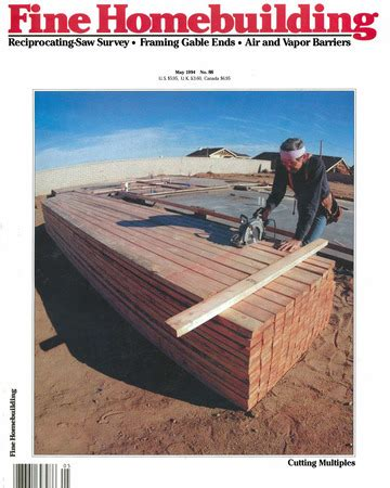 fine homebuilding issue 88 fine homebuilding