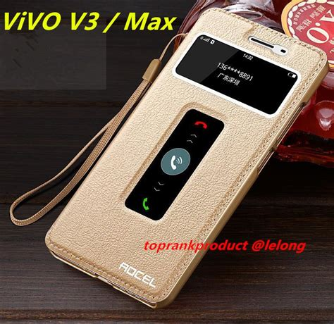 Vivo V3 Casing Leather Flip Cover Armor Bumper Sarung Dompet vivo v3 max v3max flip pu leather end 6 15 2017 10 46 pm