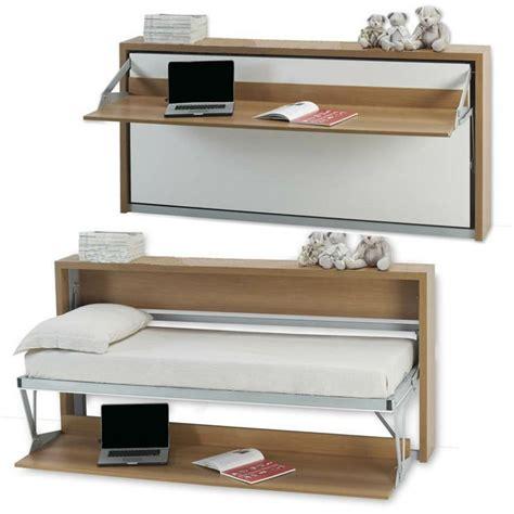 Murphy Bed Armoire by Un Mini Bureau Et Un Mini Lit Armoire Lit Bureau 1