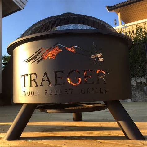 traeger pit outdoor pit traeger style traeger wood fired grills