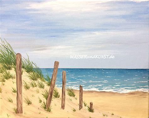 strandbilder ideen sch 246 n strandbilder gemalt weg strand20 9615 haus ideen