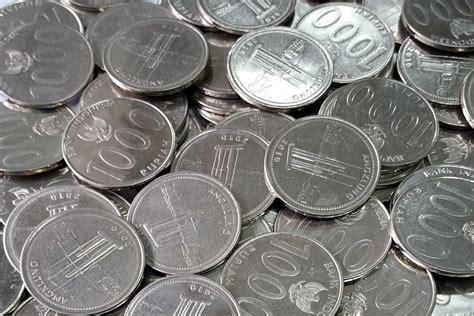 Mata Uang Koin bahan pembuatan uang logam rupiah indonesia uang indonesia