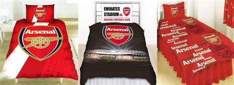arsenal quilt official arsenal fc football club single duvet quilt cover