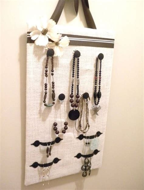 how to make a jewelry hanger creative diy jewelry organizer ideas and projects
