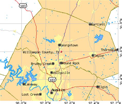 williamson county texas map williamson county texas detailed profile houses real estate cost of living wages work