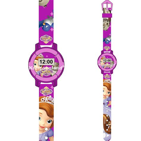 Kinder Uhr by Disney Uhr Kinder Silikon Armband Digital Kinderuhr Frozen