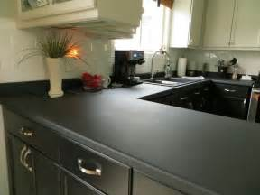 Paint Kitchen Countertop Paint Your Kitchen Countertops With Chalkboard Paint This Peaceful Home