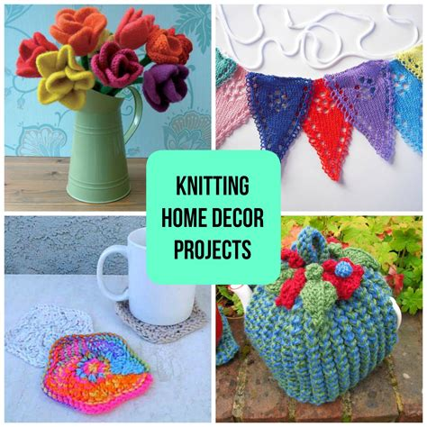 Knitting Home Decor Knitting Home Decor Projects