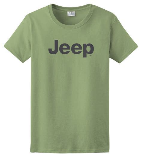 Tshirt Jeep Logo all things jeep s t shirt with gray jeep logo
