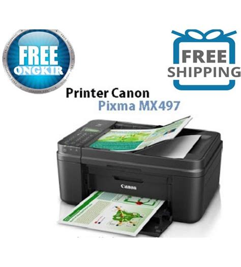 Printer Epson Scanner F4 Printer Canon Mx497 Print Scan Copy Fax F4 Wifi Dapatkan Potongan Khusus U