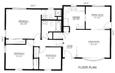 split level house floor plan split level floorplans find house plans