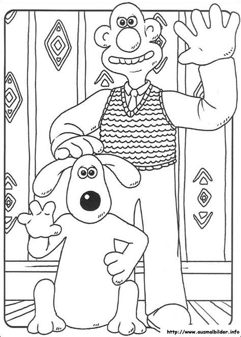 Wallace und Gromit malvorlagen