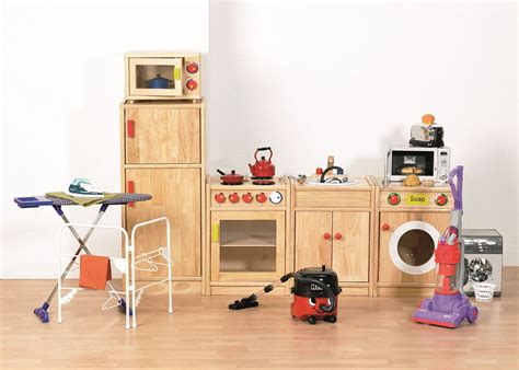 Pretend Kitchen Furniture deluxe childrens home corner kitchen high quality wooden