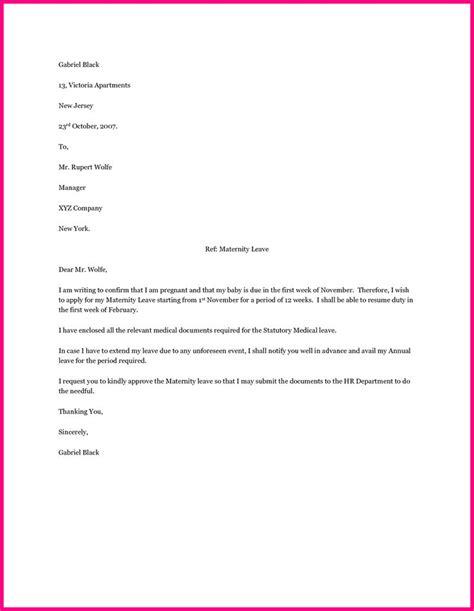 Maternity Ward Cover Letter by Best 20 Maternity Leave Application Ideas On What Is Cover Letter Exles Of