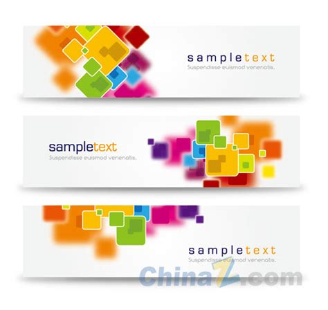design banner simple abstract simple vector banner design free vector graphic