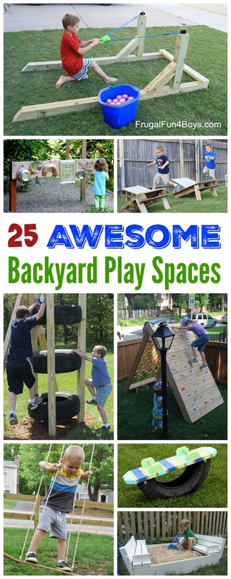 backyard diy projects   outdoor play space