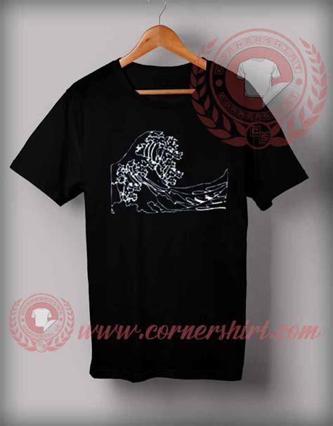 Custom Made Shirts Cheap Custom Made T Shirts Tsunami Wave Custom Design T
