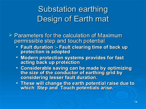 Earth Mat Calculation by Earthing Concepts