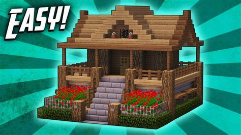 how to build a house minecraft how to build a survival starter house tutorial