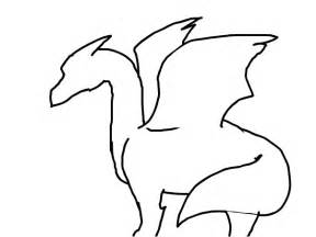 Dragon Outline Pictures Clipart Best sketch template