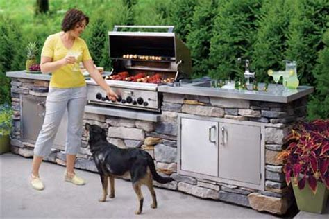 How To Build A Outdoor Kitchen Island how to build an outdoor kitchen this old house