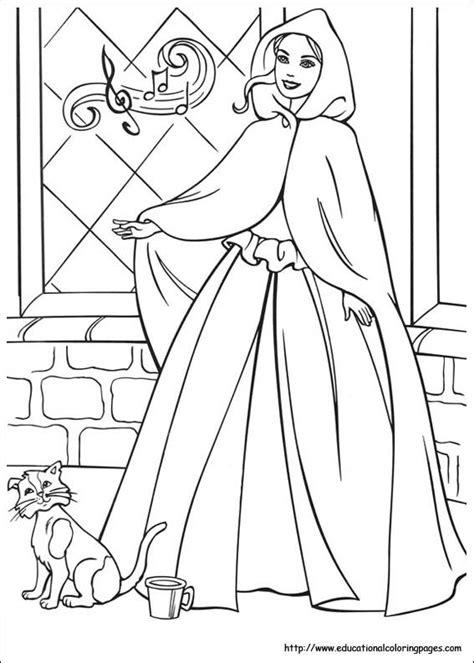 preschool coloring pages princess barbie princess and pauper coloring pages educational