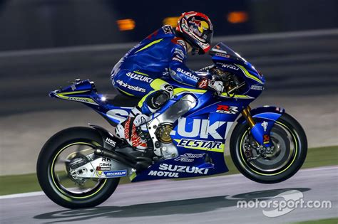 Suzuki Motogp Maverick Vi 241 Ales Team Suzuki Motogp At Qatar March Testing