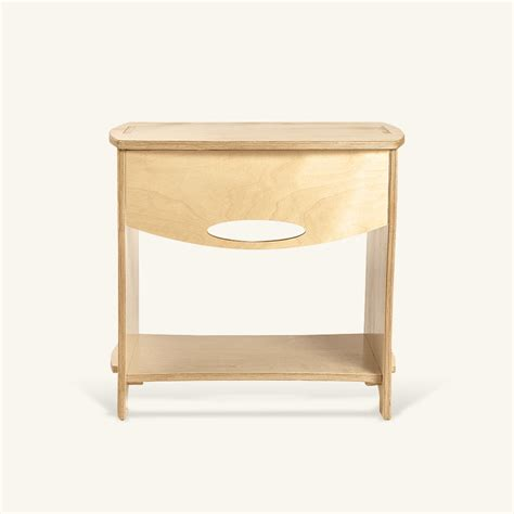 plywood bedside table bedsidetable bedroom furniture