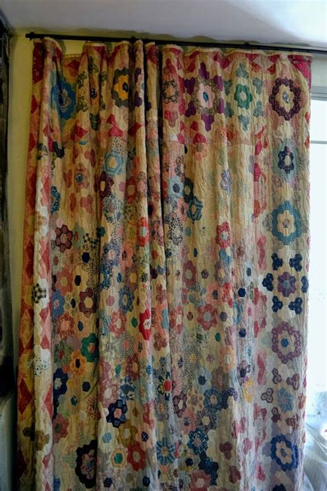 quilted curtain panels 10 great ways to use your favorite quilt delicious