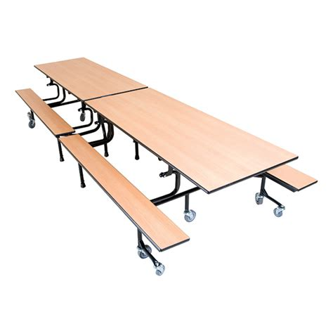 cafeteria bench palmer hamilton 61t series mobile folding bench cafeteria
