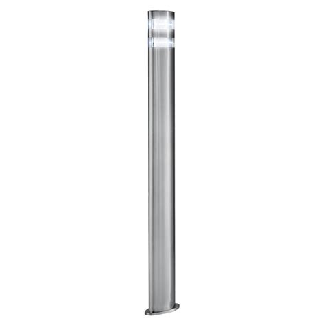 Modern Outdoor Post Light Outdoor Led Garden L Post Light Modern Satin Silver Ip44