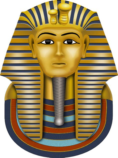 golden mask king tut clip art at clker com vector clip