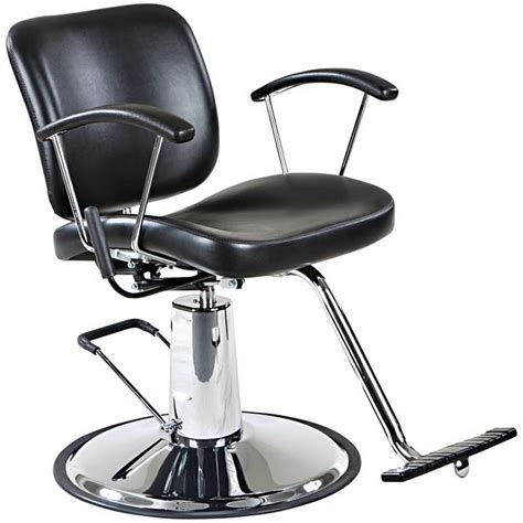 reclining salon styling chair quot sheridan quot reclining salon styling chair round base ebay
