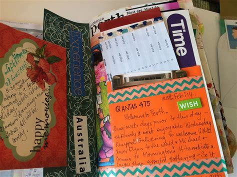 How To Make A Handmade Brochure - sue s craft cupboard travel journals