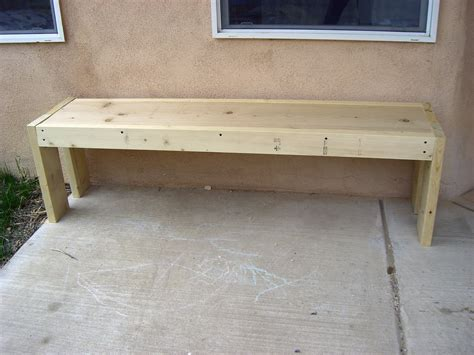 making a wooden bench home kids life how to build a bench hint no children