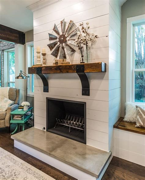 the 25 best farmhouse fireplace mantels ideas on
