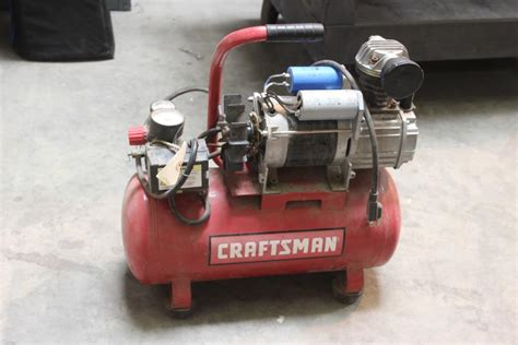 craftsman 3 gallon portable air compressor property room