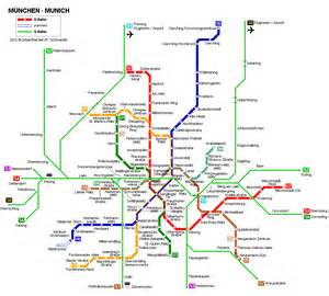 Munich Metro Map by Munchen Germany Europe Urban Metro Map Pinterest