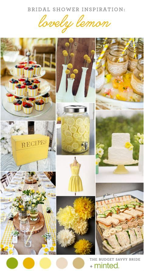 Yellow Bridal Shower Inspiration   CREATIVE WEDDING